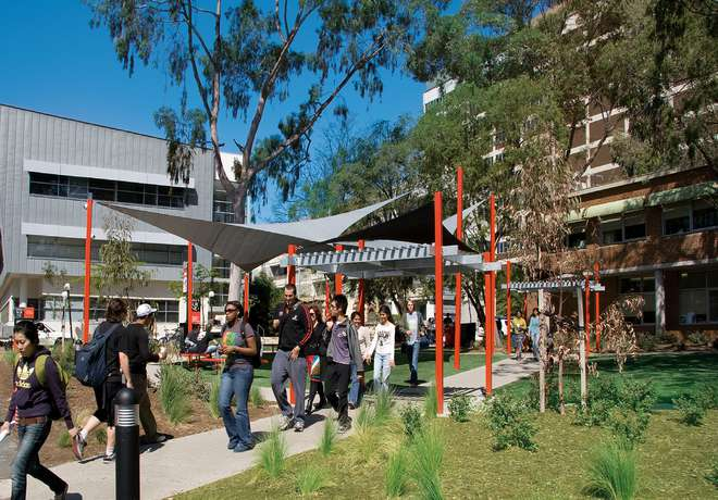 studenten, campus, Swinburne University